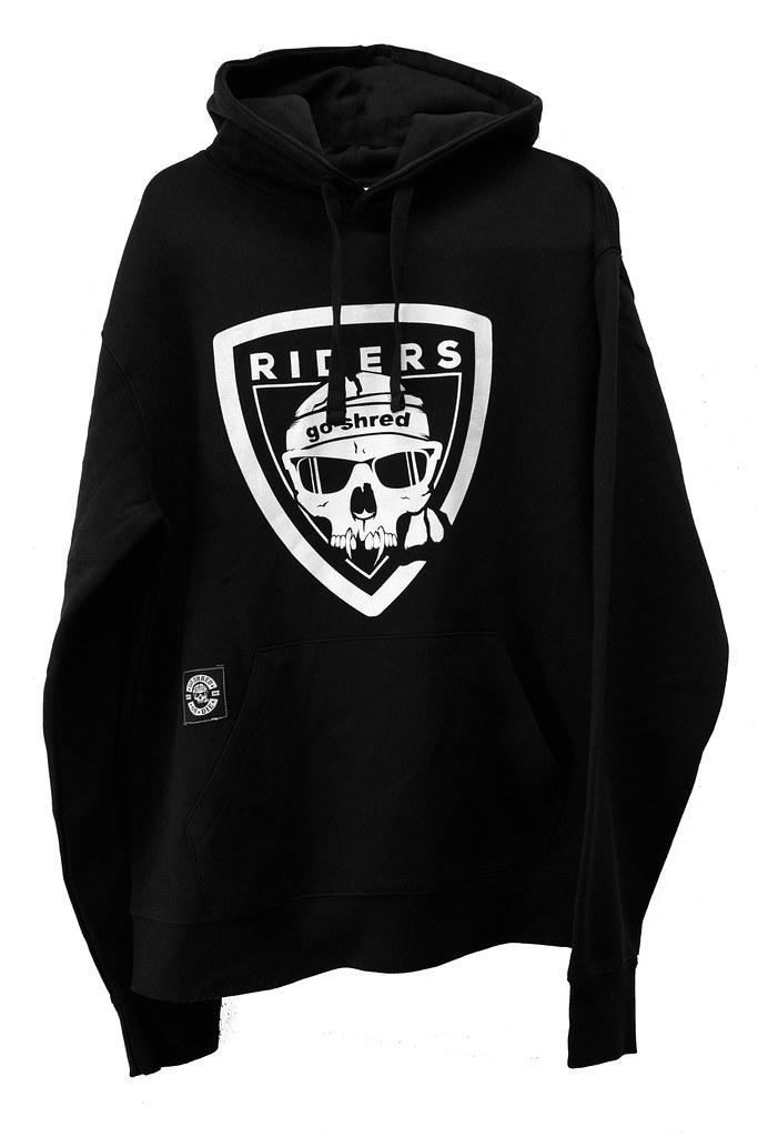 riders hoodie
