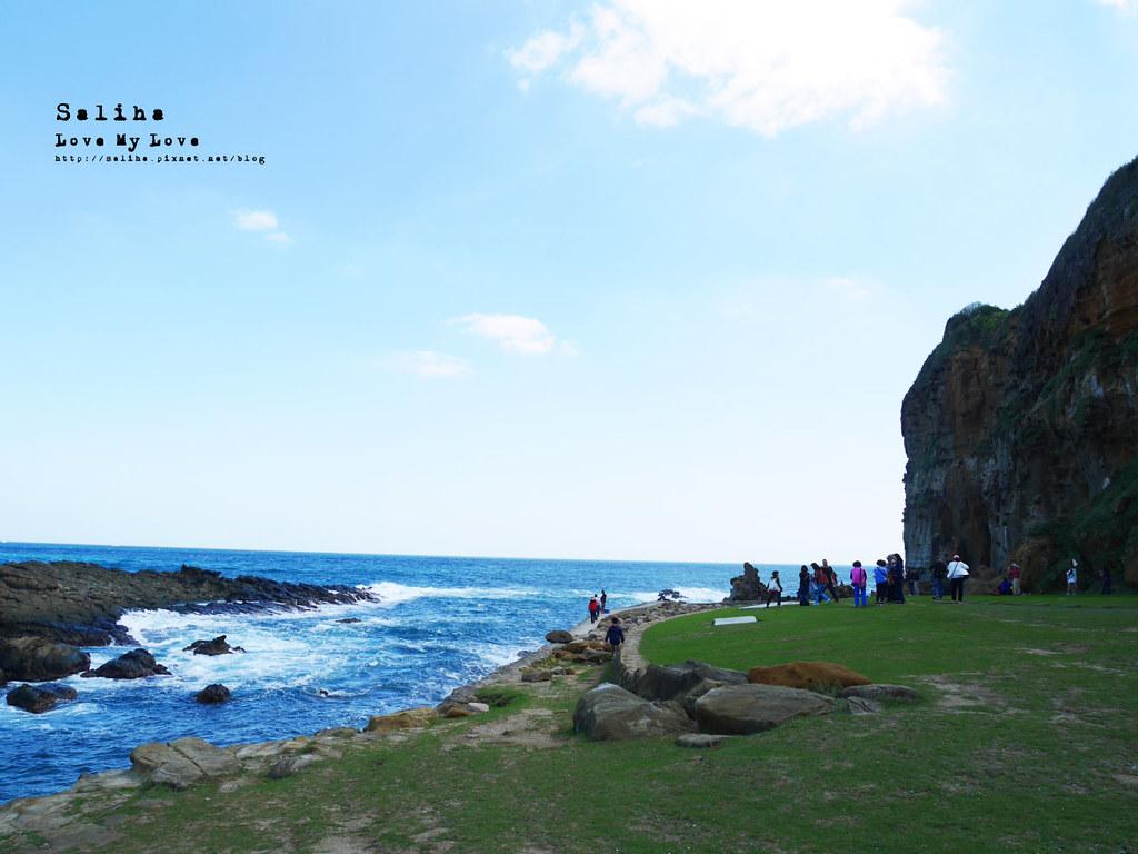 新北瑞芳象鼻岩附近景點一日遊推薦番仔澳酋長岩公園 (3)