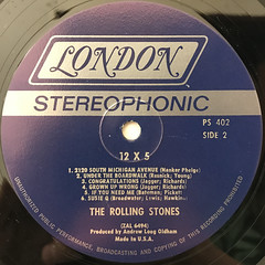 THE ROLLING STONES:12 X 5(LABEL SIDE-B)