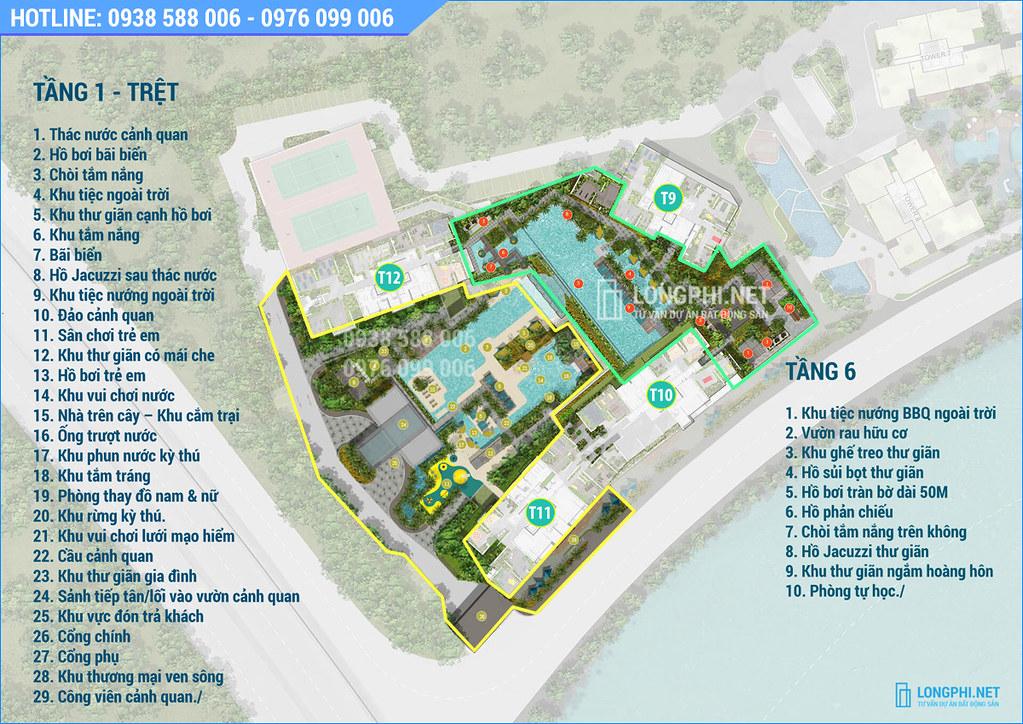 Các tiện ích nội khu dự án The Infiniti - Riviera Point q7 của Keppel Land.