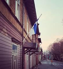 Täna hommikul @Kalamaja. Palju õnne sünnipäevaks, kallis Soome! #suomi #soome #itsenäisyyspäivä #talsinki #kalamaja