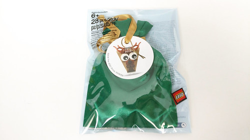 LEGO Seasonal Reindeer Head Christmas Ornament (5005253)