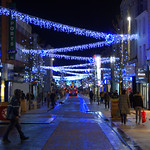 Festive Fishergate at Preston