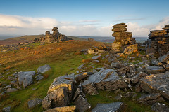 Dawn at Great Staple Tor