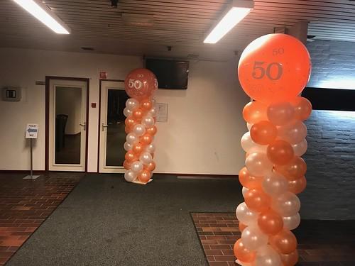Ballonpilaar Breed Rond 50 Jaar Stormpolder Krimpen aan den IJssel