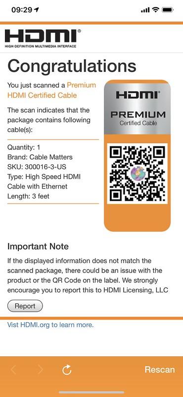 HDMI Premium Cable iOS App