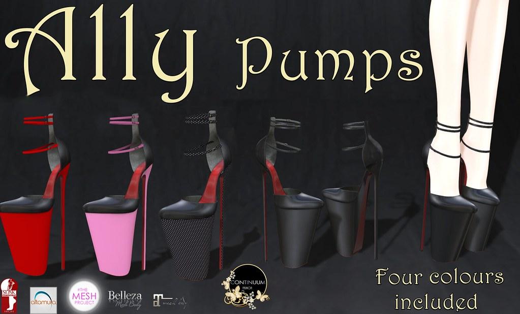 CONTINUUM ALLY PUMPS - TeleportHub.com Live!