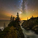 Milky Way & Glow by Adam Woodworth