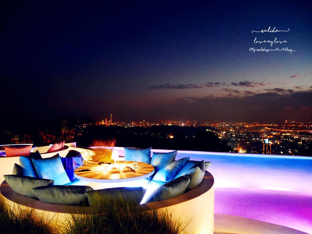 台北陽明山必吃美食夜景景觀餐廳THETOP屋頂上浪漫情人節聖誕節推薦 (2)