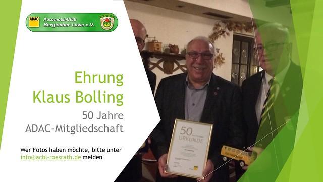 2018 Ehrung Klaus Bolling