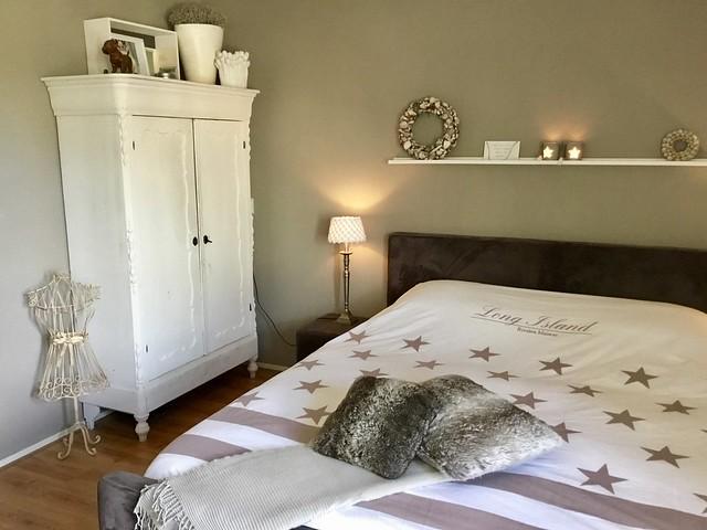Slaapkamer Riviera Maison dekbed meidenkast