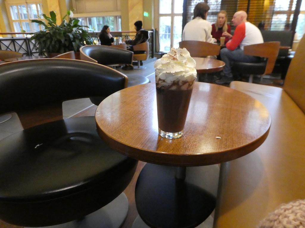 McCafe Budapest Hot Chocolatev