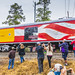 George H Bush funeral train Magnolia Texas JN116678