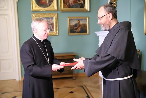 Wręczenie nominacji postulatorowi procesu beatyfikacyjnego Jánosa Esterházyego | Abp Marek Jędraszewski, 12.12.2018