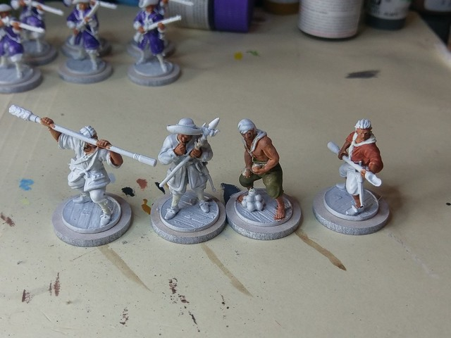 #WIP Blood and plunder Militie Artillerie