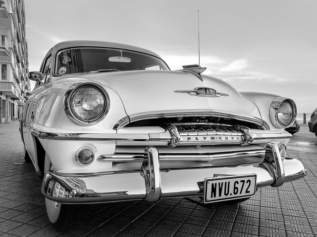 Old Ostend Timer - B&W