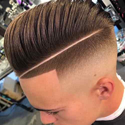 New Degraded Haircuts Man Short Hair 2019- Winter 2