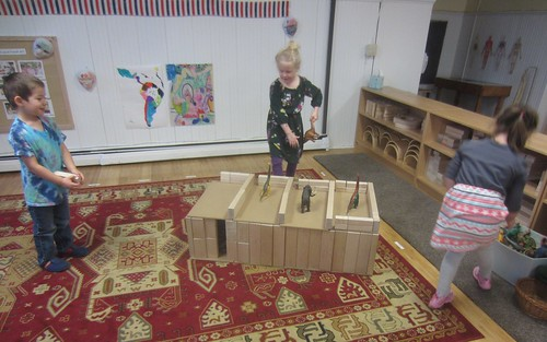 building a dinosaur house