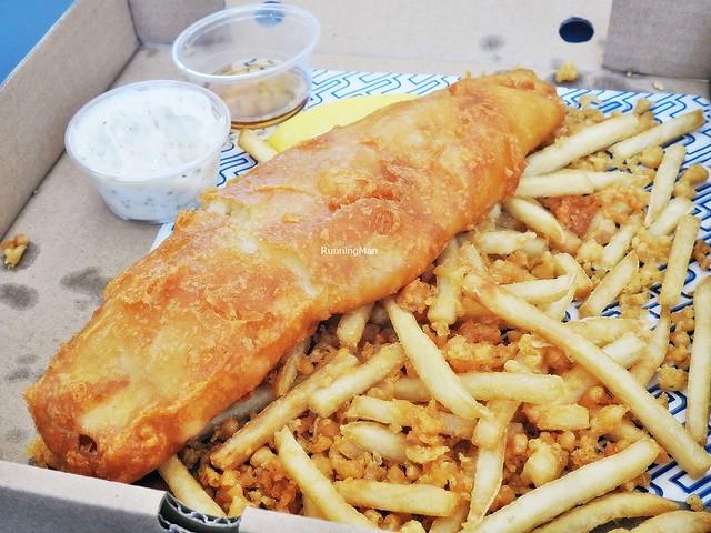 Tiger Beer Battered Fish & Chips - Haddock