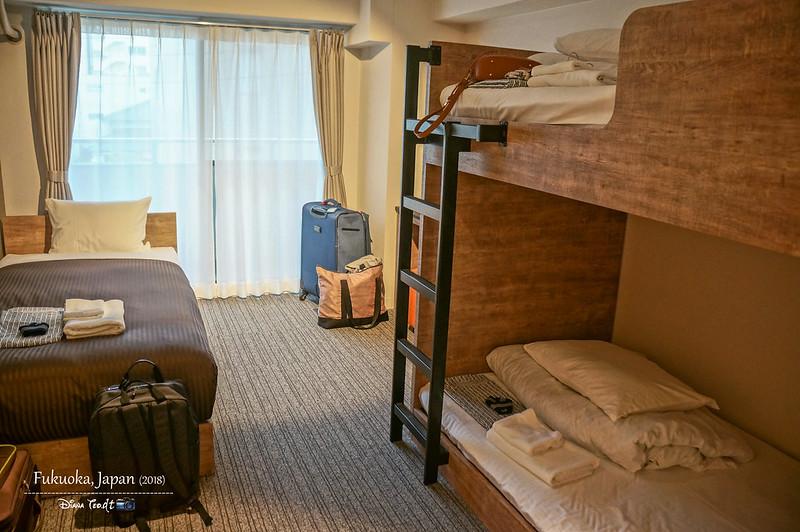 2018 Fukuoka montan HAKATA Hostel 1