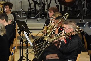 Trombonsektionen i Immanuel Brass Enköping