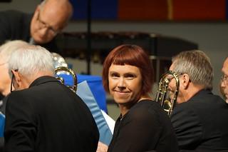 Trombonist från Immanuel Brass Jönköping