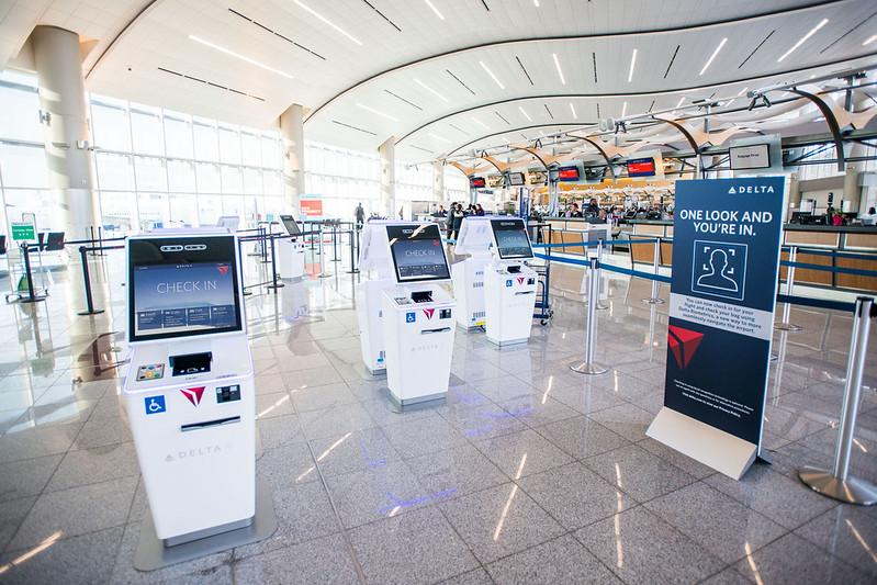 Maynard H. Jackson International Terminal (Terminal F) lobby in Atlanta