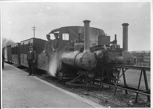 The three locomotives were painted dark green. The tenders had an additional pair of cylinders but they were apparently not used. From Lost Railways from Around the World: Listowel & Ballybunion Railway. Photo: Michael Whitehouse Collection