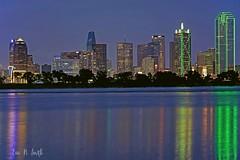 Dallas at the Trinity River