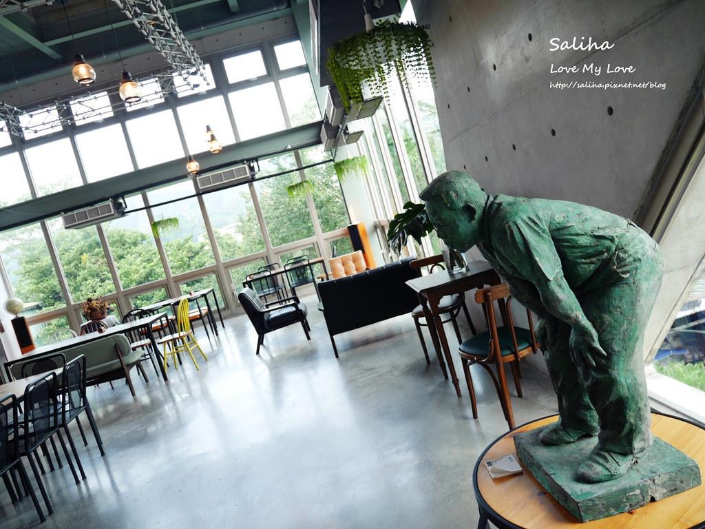新北深坑老街一日遊景點餐廳美食推薦Arc Cafe不限時玻璃屋咖啡館下午茶 (2)