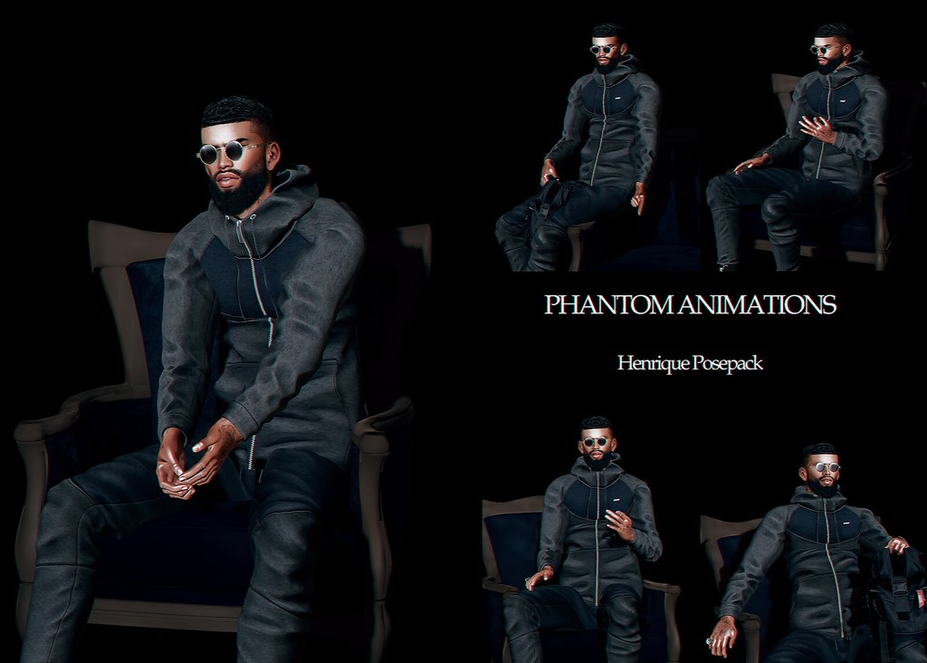 Phantom Animations – Henrique Pose Pack