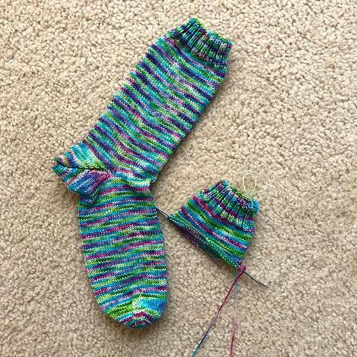 Mermaid socks