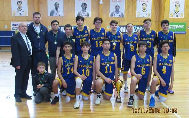 ISV Campeón Basquetbol LIBEM 2018