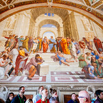 The School of Athens by Raphael - https://www.flickr.com/people/34965710@N05/