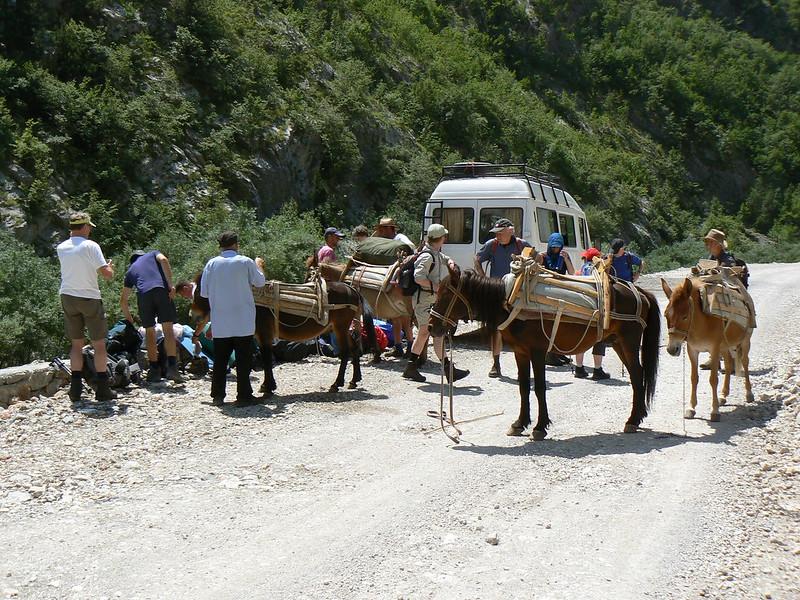 Albanië: Teth en Valbonëdal, Vreemde Voettocht