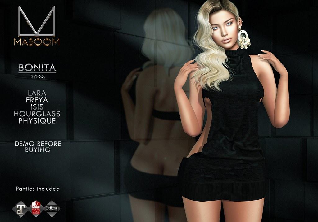 [[ Masoom ]] Bonita Dress @ Cosmopolitan - TeleportHub.com Live!