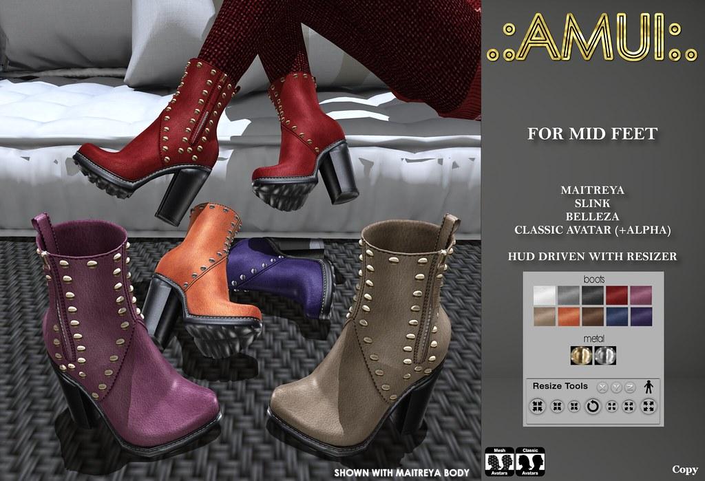 """.:AMUI:. """"Lana"""" Boots - TeleportHub.com Live!"""