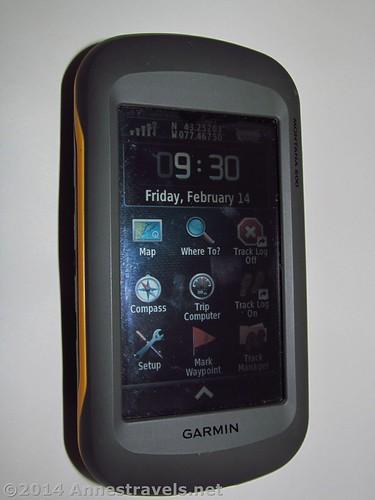 Gear Review: Garmin Montana 600 Hiking GPS - Anne's Travels