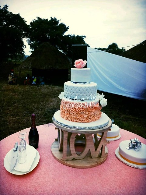Wedding Cake by Cake Avenue Ug