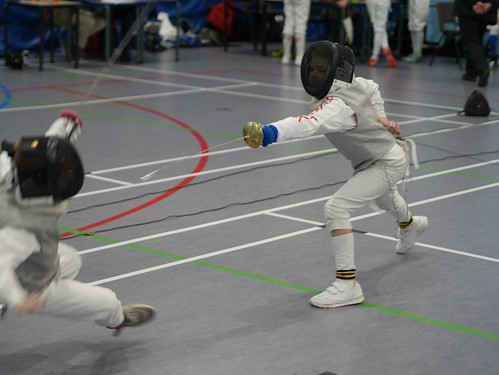 Yorkshire Fencing Nov 2018 - Taking a Fall