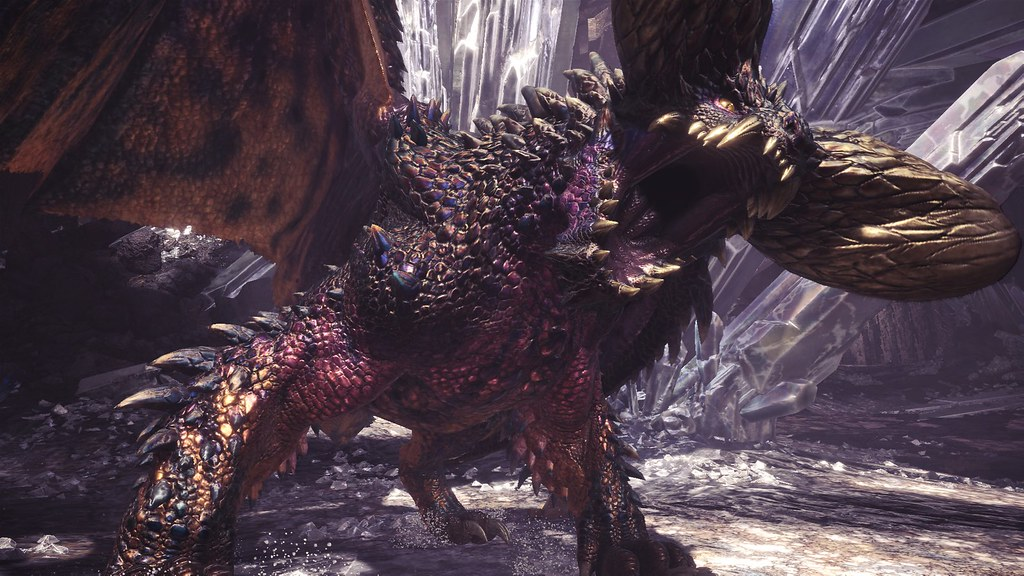 Monster Hunter World Arch-Tempered Nergigante