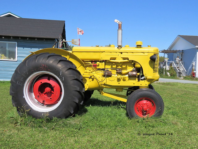 1949 Minneapolis Moline Farm Tractor