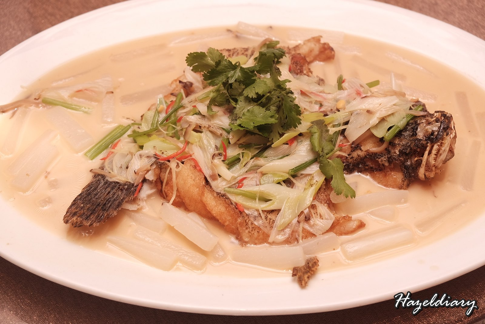 Paradise Teochew-Pan-fried and Braised Live Soon Hock