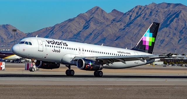 N511VL Volaris Airbus A320-233, Nikon D7000, AF-S DX VR Nikkor 55-300mm f/4.5-5.6G ED