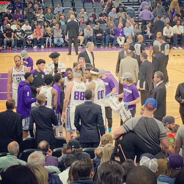2018 Kings versus Timberwolves