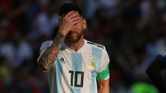 Messi to return for Argentina next year - General manager Burruchaga