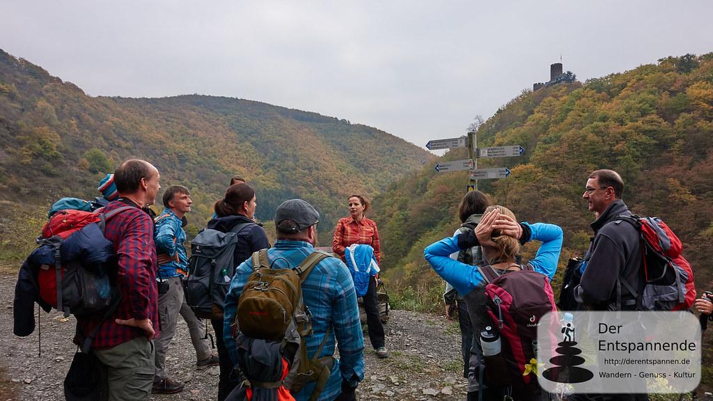 Moselsteig Etappe 22: Aufstieg am Kreuzweg bei Alken