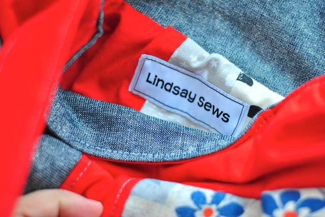 Lindsay Sews labels