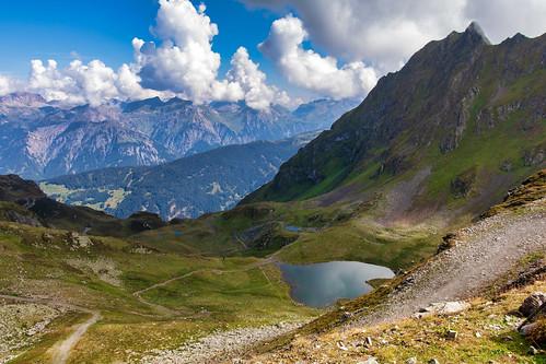 Mountains in Schruns