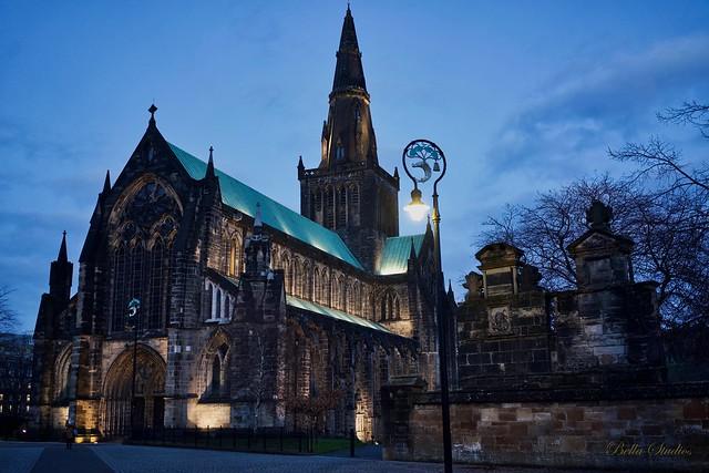Glasgow Cathedral Scotland, Sony ILCE-7M3, Sony FE 35mm F2.8 ZA